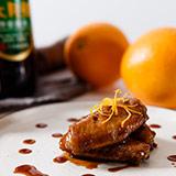 香橙烹鸡翅