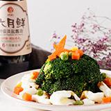 蚝油西兰花蛋白树