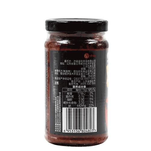 鲜椒酱(脸红级)