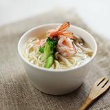鲜虾时蔬汤面