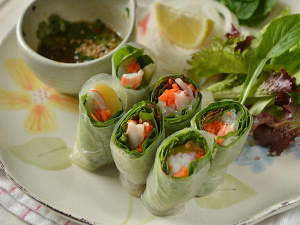 越式风味蔬菜卷