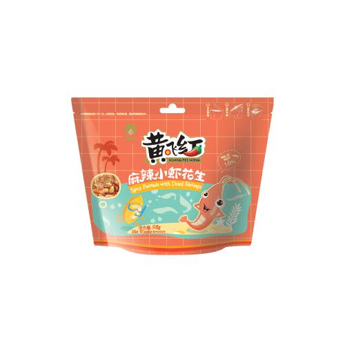 麻辣小虾花生