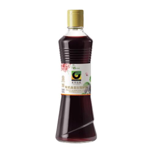 禾然有机桑葚玫瑰酵醋