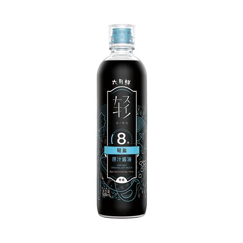 六月鲜•轻 8克轻盐原汁酱油