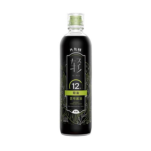 六月鲜•轻 12克轻盐昆布酱油