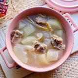 沙虫排骨冬瓜汤