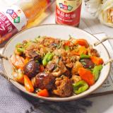 花菇焖鸡肉