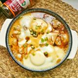 鸡蛋豆腐蒸肉饼